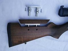Rifle Stock, Gun Storage, Hunting Accessories, Hunting Guns, Air Rifle, Firearms, Weapons, 3d Printing, Woodworking