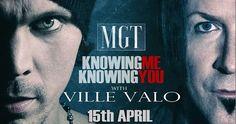 HIM vokalisti Ville Valo ile MGT'den ABBA coverına klip #him #abba #mgt #villevalo