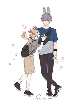 Anime Couples Drawings, Anime Couples Manga, Cute Anime Couples, Anime Cupples, Anime Life, Anime Guys, Cover Wattpad, Character Art, Character Design