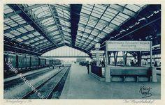 Königsberg Hauptbahnhof, Eisenbahn