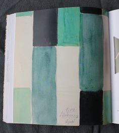 via leslie.keating, textile book (Sonia Delaunay?)