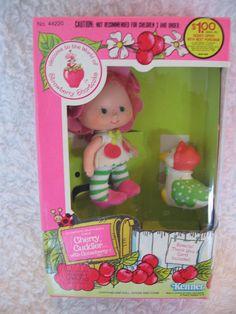 Vintage Strawberry Shortcake Cherry Cuddler Doll by luvbabycakes81, $39.00