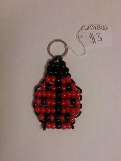 Ladybug Bead Pet Keychain by BeadPets