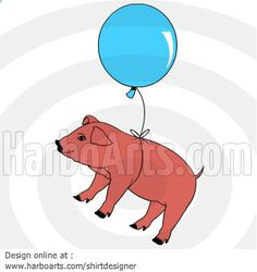 Flying Pig - DOWNLOAD - Vector Graphic >> http://harboarts.com/artwork/flying-pig-vector-graphics_template_1408466322212D3Y/ #vectorart #illustration #vectordrawing