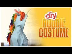 DIY Halloween Tutorial: Make A Unicorn Costume With A Hoodie | Gurl.com