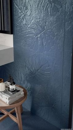 "Genziana Rodo from Abitare La Terra by Cersarda - Diary of a Tile Addict ""Whether they are sculpted, moulded, embossed or etched, tactile tiles are going from strength to strength. Tiles Uk, Padded Wall, Tiles Texture, Organic Shapes, Minimal Design, Tile Design, Color Trends, Flooring, Terra"