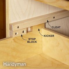Save money by making wood drawer slides for the tool storage cabinets. Get the plans for the Ultimate Tool Storage Cabinets:  http://www.familyhandyman.com/tools/storage/ultimate-tool-storage-cabinets/view-all