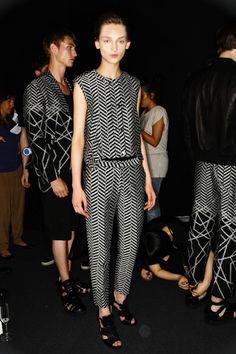 Neil Barrett Men SS 12 Fashion Show Milan Backstage