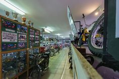 """""""Motorbike Museum"""" has been published on Pascal Parent Photos  More information at http://wp.me/p4WBG2-cP Photo 15 of 356 of the 2015 Collection Randomly chosen by my mom Claire Parent from my Blue collection. The little town of Deneysville on the Vaal Dam has a motorbike museum hidden in a popular bed and breakfast, though I think it's the bar… It's hard to believe but it's true and there is a lot of them too. Photograph by Pascal Parent © 2014  #"""