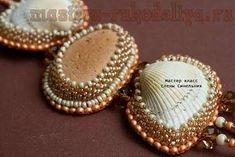 Workshop: lacing shell beads