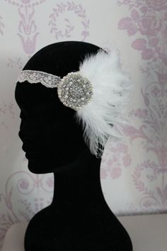 """Roaring 20s"" Headpiece"
