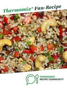 Recipe The Best Oriental Brown Rice Salad by jezzymoo, learn to make this recipe easily in your kitchen machine and discover other Thermomix recipes in Side dishes. Pasta Dishes, Food Dishes, Side Dishes, Brown Rice Cooking, Brown Rice Salad, Pasta Casserole, Recipe Community, Salad Recipes, Risotto