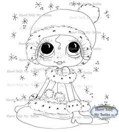 Faça o Download Digital Digi selos Olho grande Cabeça grande Dolls Sujo Bessy IMG956 Meus Besties por Sherri Baldy