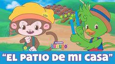 El Patio de mi Casa - Canciones Infantiles de Mundo Lanugo | Dibujos ani...