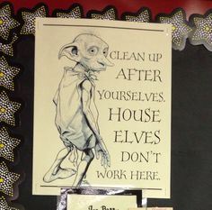 Harry Potter Classroom-Chore Chart                                                                                                                                                                                 More