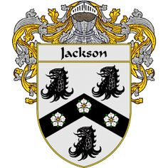 Jackson Coat of Arms   http://irishcoatofarms.org/ has a wide variety of products with your surname with your coat of arms/family crest, flags and national symbols from England, Ireland, Scotland and Wale
