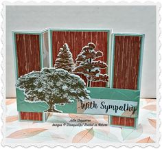 Stampin'Up! Rooted in Nature Sympathy card
