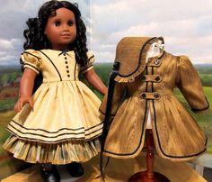 https://flic.kr/p/cjt7tq | 1850's Ensemble-The coordinating set! | 1850's Silk Gown, Cost and Bonnet