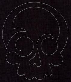 Quilting Skull (Single Run)_image