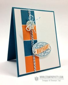 Stampin' Up! Best of Birthdays Card Duo - Stampin' Up! Demonstrator - Mary Fish, Stampin' Pretty Blog, Stampin' Up! Card Ideas & Tutorials