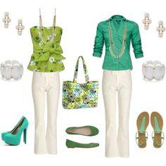 """Lime's Up Vera Bradley Inspiration"" by thecuriosityshop on Polyvore"