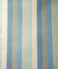 Tecido Suede Listrado Azul Fendy - Taiti 11