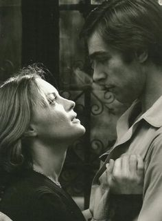 Romy Schneider & Fabio Testi in Romy Schneider, Le Talent, Alain Delon, French Films, Black And White Colour, Good Movies, Playboy, I Am Awesome, Actors