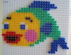 Fisch Bügelperlen - Fish Hama Perler beads