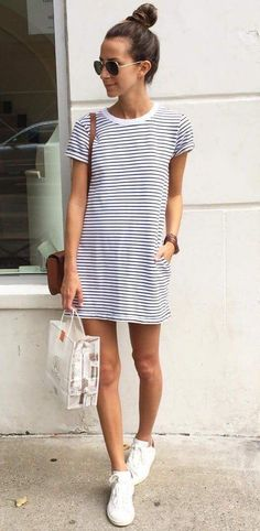 #summerstyle #summeroutfits #stripes