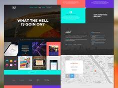 Agency website (concept & redesign) by Radosław Struczyński