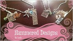 Check out my new Banner! - Getting ready for the St. Cloud Art Crawl :) excited! www.etsy.com/shop/hammeredbyleah