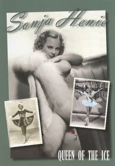 """21 Movies That Helped Make Figure Skating Popular: """"Sonja Henie: Queen Of The Ice"""" Figure Skating Movies, Olympic Ice Skating, 1995 Movies, Women Figure, Movie Tv, Cool Things To Buy, Queen, Pictures, Movie Posters"""