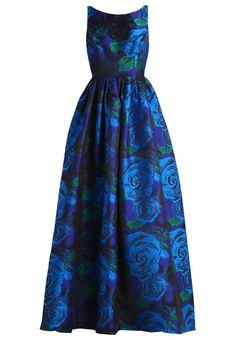 Suknia balowa - blue/green - Zalando.pl