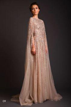 http://www.krikorjabotian.com/ss14/  Wedding dress with a cape