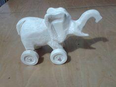 LadislavKurnota / vyrezávaný sloník na kolieskach Wooden Toys, Car, Automobile, Wood Toys, Woodworking Toys, Vehicles, Cars