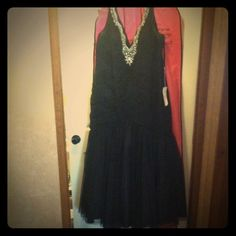 """Plus size Black prom/formal mermaid style dress Black mermaid style formal/prom dress. Worn once. No rips or tears. Zips in the back. I'm 5'7""""/5'8"""" and I wore flats with this and it just brushed the ground. In excellent condition. Has been kept in garment bag(will include with purchase!) Dresses"""