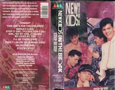 New Kids on the Block: Step by Step #VHS #80s