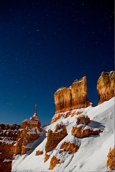 Desert and snow