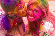 I missed this year's Festival of Color. It was March I WILL do this next year. Oh Yeah Baby, Anniversary Photos, Engagement Pictures, Holi, Going Out, Photoshoot Ideas, Hair Styles, Photo Shoot, Photo Ideas