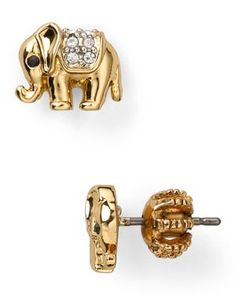 Juicy Couture Elephant Stud Earrings -I think I may buy these for a friend she loves elephants
