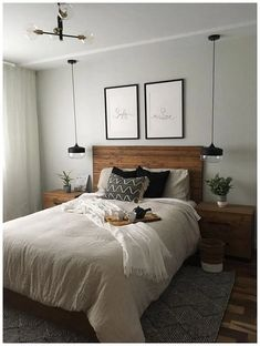 bedroom decor ideas for couples ~ bedroom decor . bedroom decor for couples . bedroom decor for small rooms . bedroom decor ideas for women . bedroom decor ideas for couples Small Space Bedroom, Small Master Bedroom, Small Room Decor, Master Bedroom Design, Master Suite, Small Spaces, Romantic Master Bedroom, Small Apartments, Bedroom Ideas For Small Rooms For Adults