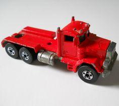 Vintage Hot Wheels Peterbilt Truck 1979 by lisabretrostyle Vintage Hot Wheels, Peterbilt Trucks, Vintage Marketplace, Vintage Toys, Diecast, Repurposed, The Originals, Handmade, Image