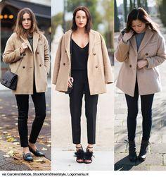 3x1: Short Camel Coats