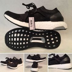 check out a58e1 dd235 Womens Adidas UltraBOOST BB1696 Black Running Shoes Size 9.5