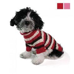 Hundepullover - Touch - rosa, rot
