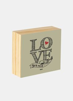 Box ilustrado - Love is al you need