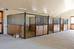 horse barns and stalls | Horse Stalls | Free Standing Horse Stall Kits