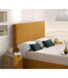 Comprar online Cabecero tapizado de fabricación nacional modelo HEDRA Ideas, Bed, Furniture, Home Decor, Templates, Upholstered Headboards, Ivy, Headboards, Yurts