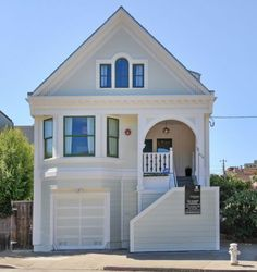 676 San Jose Ave. is a modernized Victorian in Noe Valley that includes an au pair unit and legal income property. Photo: Open Homes Photography / ONLINE_CHECK