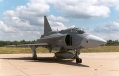 Saab JA 37 Viggen Swedish Air Force